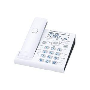 パナソニック コードレス電話機 子機なし ホワイト VE-GDW54D-W