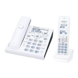 パナソニック コードレス電話機 子機1台付き ホワイト VE-GDW54DL-W
