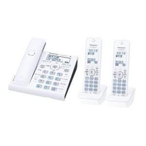 【納期約2週間】VE-GDW54DW-W 【送料無料】[Panasonic パナソニック]コードレス電話機 子機2台付き ホワイト VEGDW54DWW