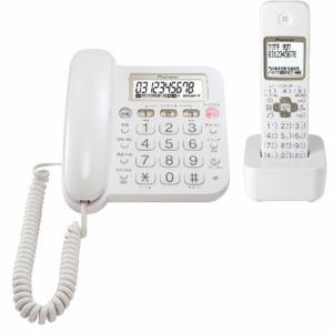 パイオニア デジタルコードレス留守番電話機 子機 1個付 ホワイト TF-SA15S-W