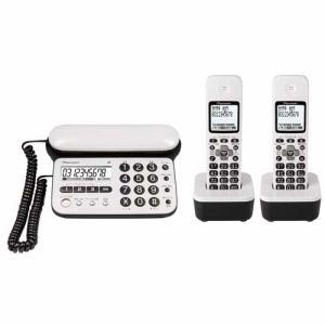 パイオニア コードレス留守番電話機(子機2台)ピュアホワイト TF-SD15W-PW