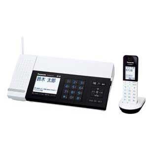 Panasonic デジタルコードレス普通紙FAX おたっくす(子機1台) KX-PD101DL-W