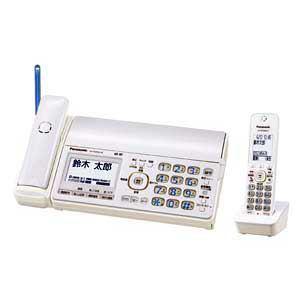 Panasonic デジタルコードレス普通紙FAX おたっくす(子機1台) ホワイト KX-PD552DL-W