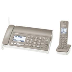 パナソニック 子機1台付 デジタルコードレス普通紙FAX おたっくす モカ KX-PD304DL-T