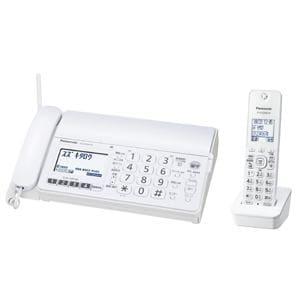 パナソニック 子機1台付 デジタルコードレス普通紙FAX おたっくす ホワイト KX-PD304DL-W