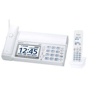 パナソニック 【子機1台付】デジタルコードレス普通紙FAX 「おたっくす」 ホワイト KX-PD604DL-W