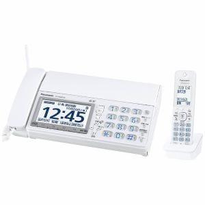 パナソニック 【子機1台付】デジタルコードレス普通紙FAX 「おたっくす」 ホワイト KX-PD600DL-W