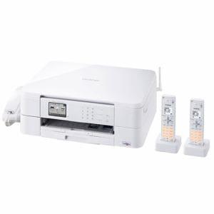 ブラザー MFC-J737DWN A4対応 FAX複合機 「PRIVIO(プリビオ)」 (コードレス受話器2台付) ホワイト