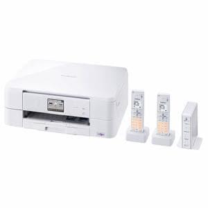 ブラザー MFC-J837DWN A4対応 FAX複合機 「PRIVIO(プリビオ)」 (コードレス受話器2台付) ホワイト