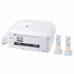 ブラザー MFC-J997DWN A4対応 FAX複合機 「PRIVIO(プリビオ)」 (コードレス受話器2台付) ホワイト