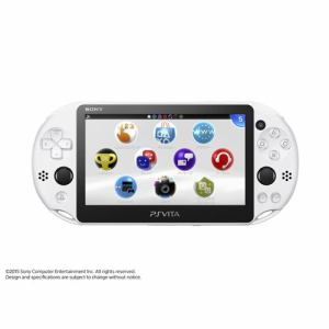SONY PlayStation Vita Wi-Fiモデル グレイシャー・ホワイト PCH-2000ZA22