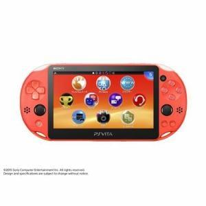SONY PlayStation Vita Wi-Fiモデル ネオン・オレンジ PCH-2000ZA24