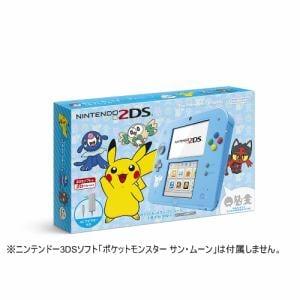 任天堂 ニンテンドー2DS ポケットモンスター サン・ムーン【ライトブルー】 FTR-S-BDAA