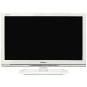 【処分品】 シャープ AQUOS(アクオス) LC-19K20-W 19V型 地上・BS・110度CSチューナー内蔵 ハイビジョン液晶テレビ  ホワイト