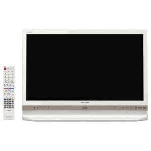 シャープ AQUOS(アクオス) 24V型地上・BS・110度CSデジタルハイビジョンLED液晶テレビ ホワイト LC-24R30-W
