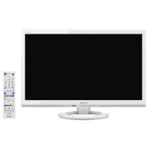 シャープ AQUOS(アクオス) 22V型地上・BS・110度CSデジタル ハイビジョンLED液晶テレビ (ホワイト) LC-22K30-W