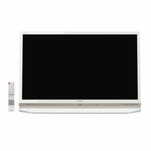 シャープ AQUOS(アクオス) 40V型地上・BS・110度CSデジタル フルハイビジョンLED液晶テレビ (ホワイト) LC-40R30-W