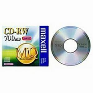 <ヤマダ> マクセル CD-RW CDRW80MQS1P 4X画像