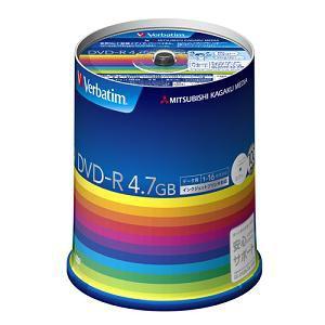 三菱ケミカルメディア DHR47JP100V3 DVDメディア