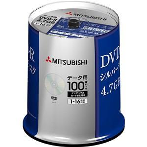 三菱ケミカルメディア DHR47J100D5 DVD-R(Data) 1回記録用 4.7GB 1-16倍速 100枚スピンドルケース100P