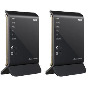 NEC 無線LANルータ (親機&子機セット) イーサネットコンバータセット PA-WG1800HP2/E