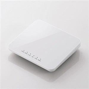 エレコム 11ac 433Mbps ギガ対応ホテルルーター ホワイト WRH-733GWH