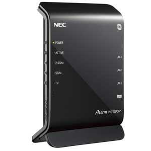 NEC 11ac対応 無線LANルータ 親機 PA-WG1200HS