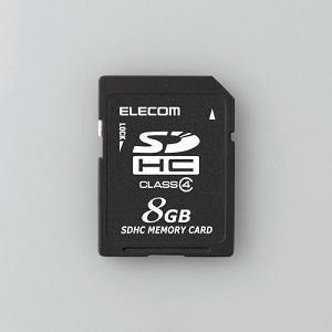 エレコム SD CLASS4 8G MFDSD08GC4