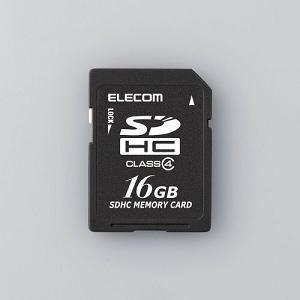 エレコム SD CLASS4 16G MFDSD16GC4