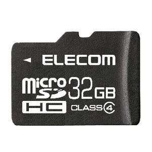エレコム MICROSD CLASS4 MFDMR32GC4