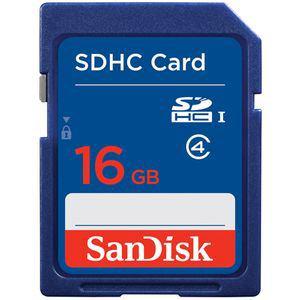 SanDisk SDHCカード CLASS4 (16GB) SDSDB-016G-J35U
