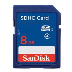 サンディスク SDHCカード 8GB SDSDB-008G-J01