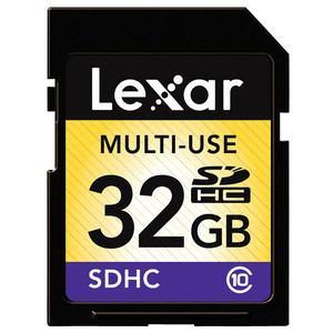 レキサーメディア 高速SDHCメモリーカード(Class10対応・32GB) LSD32GABJPC10