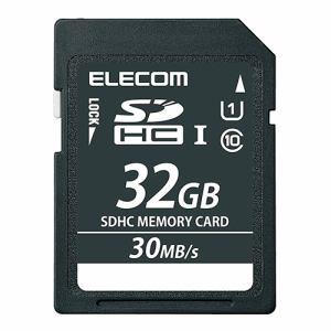 エレコム SDHCメモリカード(UHS-I対応) 32GB MF-RSD32GC10