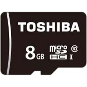 東芝 MSDAR40Nシリーズ microSDHCメモリカード 8GB MSDAR40N08G