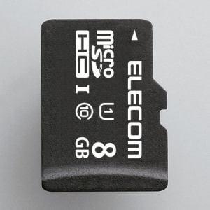エレコム MF-DMR008GUL microSDHCメモリカード(UHS-I対応) 8GB