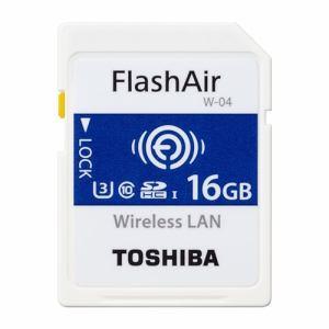 東芝 SD-UWA016G SDHC/SDXCメモリカード 「FlashAir」 16GB