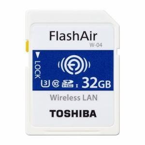 東芝 SD-UWA032G SDHC/SDXCメモリカード 「FlashAir」 32GB