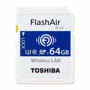 東芝 SD-UWA064G SDHC/SDXCメモリカード 「FlashAir」 64GB
