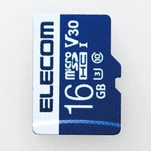 エレコム MF-MS016GU13V3R データ復旧microSDHCカード UHS-I U3 V30 16GB