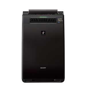 シャープ 【PM2.5対応】プラズマクラスター搭載加湿空気清浄機 (空清25畳まで/加湿18畳まで) ブラウン系 KI-FX55-T