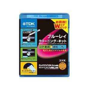 <ヤマダ> TDK ブルーレイ クリーニング・キット Wケアパック (乾式&湿式) TDK-BDWLC22J TDKBDWLC22J画像