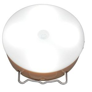 アイリスオーヤマ 乾電池式屋内センサーライト マルチタイプ 昼白色 ベージュ BSL40MN-U