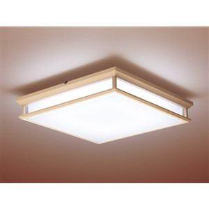 パナソニック リモコン付和風LEDシーリングライト (?12畳) 調光・調色(昼光色?電球色) HH-LC795A