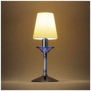 オリンピア照明 KRI001B 切子スタンドライト 青