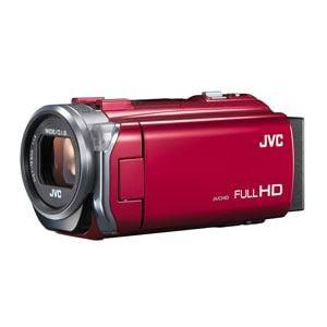 JVC フルハイビジョンビデオカメラ Everio(エブリオ)レッド GZ-E765-R