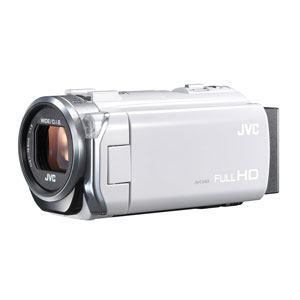 JVC フルハイビジョンビデオカメラ Everio(エブリオ)ホワイト GZ-E765-W