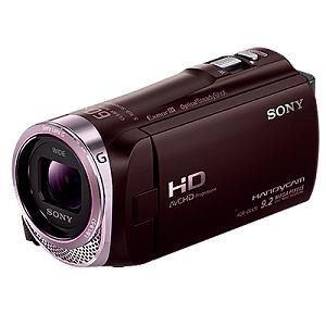 SONY ビデオカメラ HANDYCAM(ハンディカム)32GBメモリー内蔵 (ボルドーブラウン) HDR-CX420-T