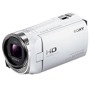 SONY ビデオカメラ HANDYCAM(ハンディカム)32GBメモリー内蔵 (ホワイト) HDR-CX420-W