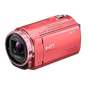 SONY ビデオカメラ HANDYCAM(ハンディカム)32GBメモリー内蔵 (ピンク) HDR-CX535-P